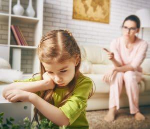 Konflikter med barn, skam, skuld, uppfostran