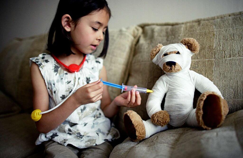 Läkarbesök för barn